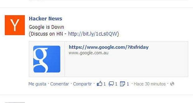 Google se cae en todo el mundo y usuarios protestan en redes sociales