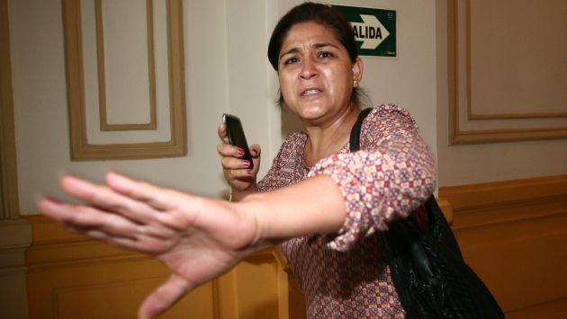 "AUDIO: Nancy Obregón a Humala: ""Primero sancione a sus narcos con plata"""