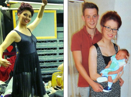 Adolescente va a hospital por dolor de estomago pero dio a luz a un bebé