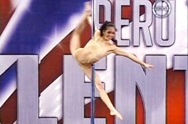 """(Video) Sensual """"pole dance"""" impresionó a jueces de """"Perú Tiene Talento"""""""