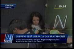 Eva Bracamonte sale libre tras permanecer en prisión 47 meses