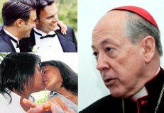 Cardenal Cipriani plantea referéndum para unión civil y aborto terapeútico