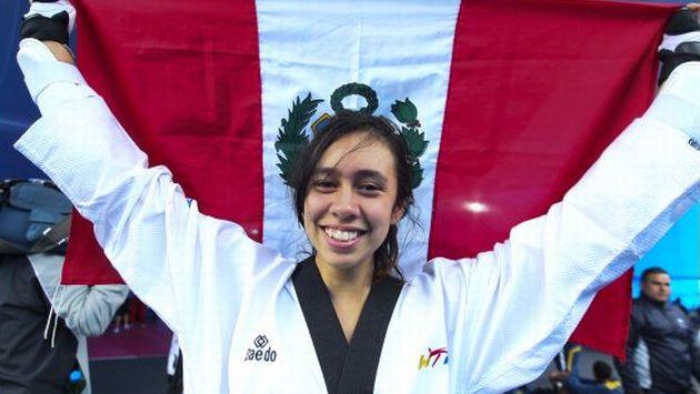 Belén Costa fue la primera deportista nacional que subió a lo más alto del podio en los I Juegos Suramericanos.
