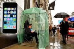 iPhone 5S: Empieza la locura y las colas en las tiendas de Apple