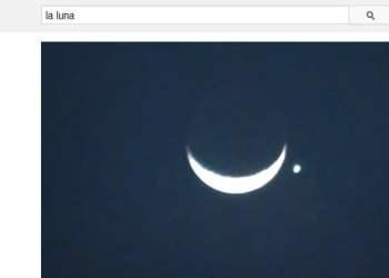 La Luna oculta a Venus: Suben videos de impresionante espectáculo en el cielo