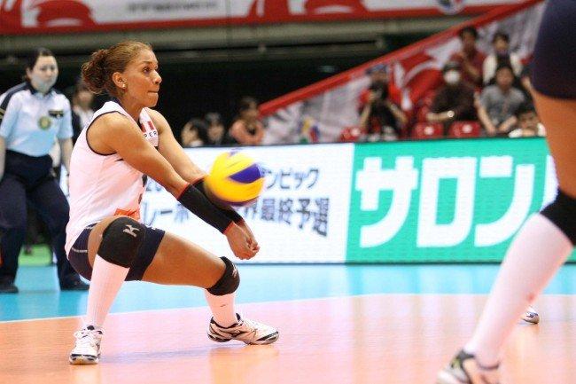 Vanessa Palacios (en la foto) capitaneará a la selección peruana de vóley.