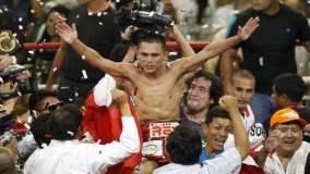 """Chiquito"""" Rossel sigue siendo el más grande del box mundial minimosca."""