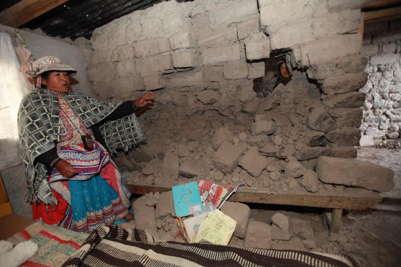 (Referencial) Defensa Civil: 19 familias damnificadas y 12 heridos por fuerte sismo