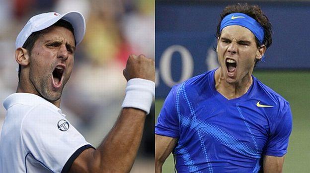 El lunes, Novak Djokovic y Rafael Nadal disputarán el título del último Grand Slam del año.
