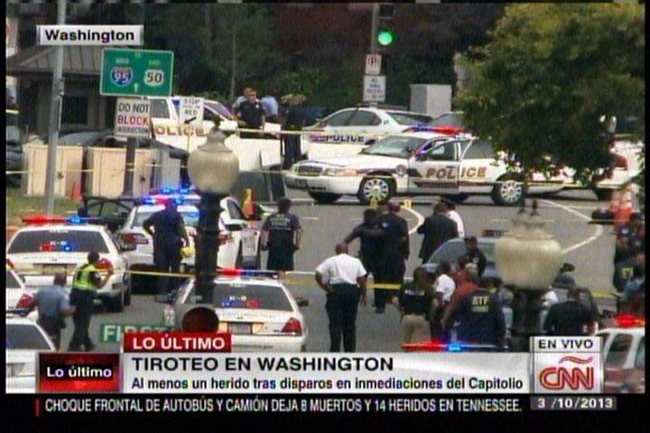Tiroteo en Capitolio de los Estados Unidos deja varios heridos