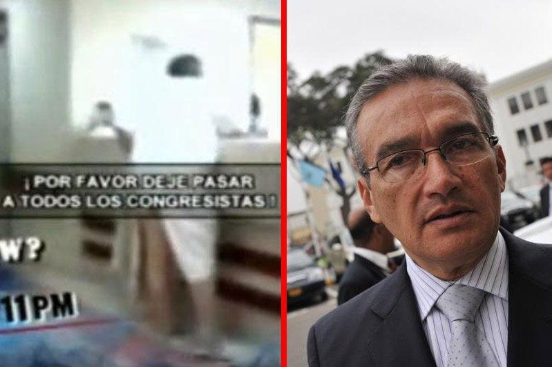 """Aguinaga sobre video de Fujimori gritando: """"Es una escena prefabricada"""""""