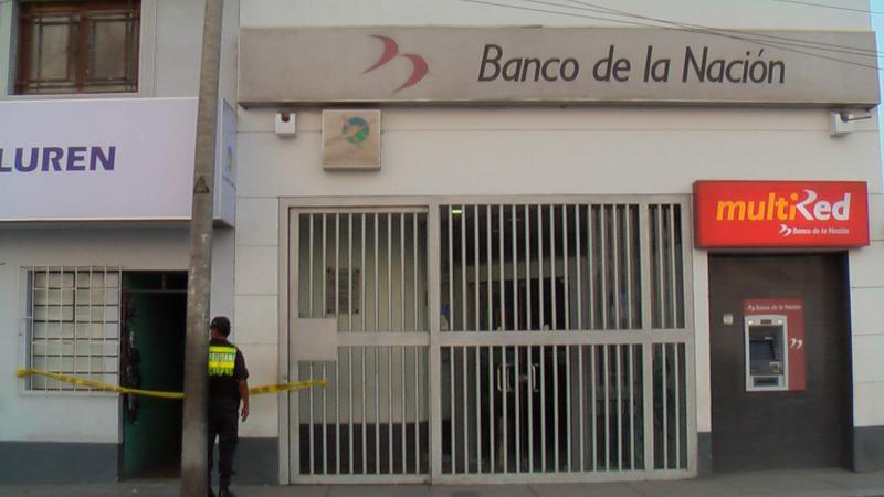 Insólito: Extraen cajero del Banco de la Nación y roban S/ 200 mil