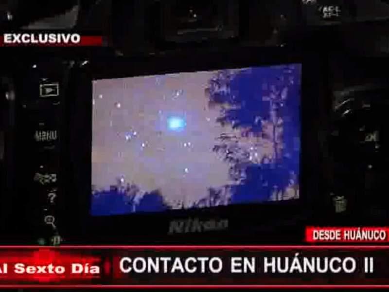 ¿OVNIS en Huánuco?: Registran en video más objetos luminosos extraños