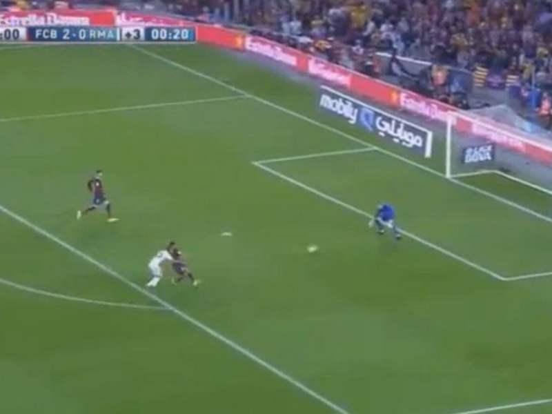 [VIDEO] Mira el gol de Jesé que descontó para el Real Madrid vs Barcelona