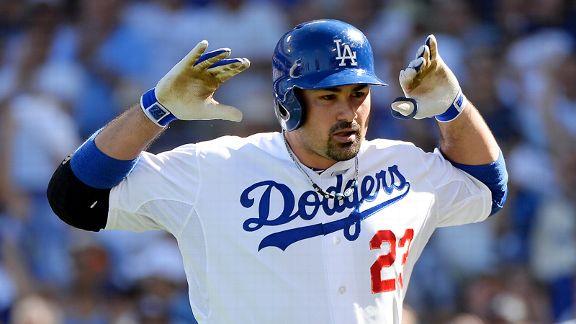 El mexicano González fue el artífice principal del triunfo de los Dodgers, al registrar dos jonrones y una carrera.
