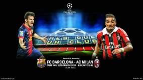 En Vivo. Milan vs. Barcelona por la UEFA Champions League