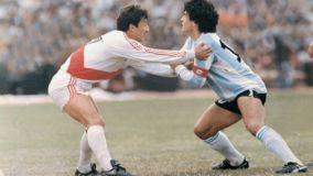 En 1985, Luis Reyna anuló a Diego Armando Maradona.