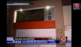 Intervienen night club 'Las Suites de Barranco' por damas ilegales