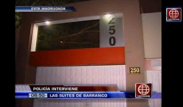 Intervienen night club 'Las Suites de Barranco' por damas ilegales