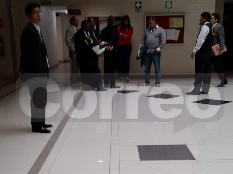 FOTOS: Miguel Chehade se entrega y lo llevan a carceleta del PJ