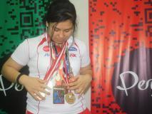 Mallory Aco logró la máxima distinción en los Juegos Bolivarianos.