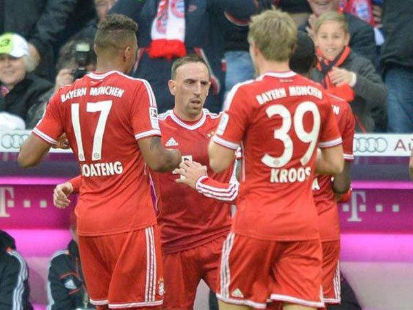 Bayern Munich sumó su décimo triunfo y lidera la Bundesliga.