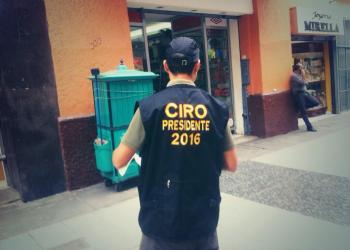 Ciro Castillo presidente: Aparecen volantes y chalecos para elecciones del 2016