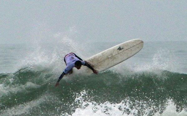 Benoit Clemente se tituló campeón mundial de Surf en la modalidad Longboard.
