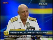 Relevan a José Cueto Aservi de la jefatura del Comando Conjunto de las FF.AA.