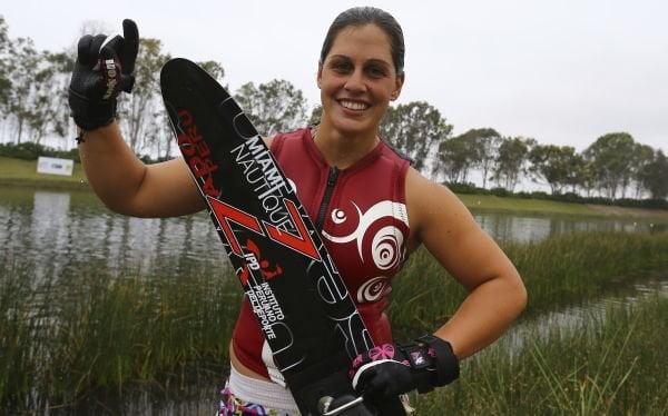 Delfina Cuglievan ya suma tres medallas de oro en los Juegos Bolivarianos