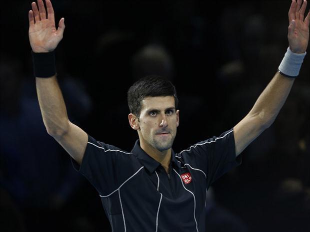 Djokovic a semifinales del ATP World Tour Finals 2013.