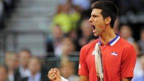 Djokovic cumplió y tanto Serbia como República Checa decidirán el campeonato en el quinto y último punto.