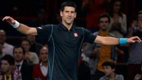 Novak Djokovic fue superior a Wawrinka y avanzó a semifinales.