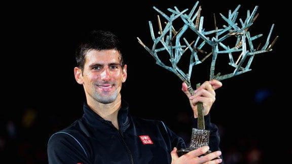 Novak Djokovic es el nuevo campeón del Masters 1000 de Paris-Bercy..