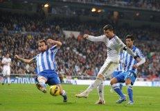 Cristiano Ronaldo buscará incrementar su racha goleadora ante el Real Sociedad.  Hasta el momento el portugués es el goleador del campeonato con 13 goles junto a Diego Costa.