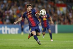 Lionel Messi se perderá lo que resta del año por una rotura al bíceps femoral.