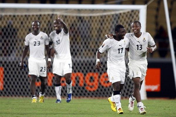 Ghana obtuvo su clasificación Brasil 2014 gracias al 6-1 de la ida ante Egipto.
