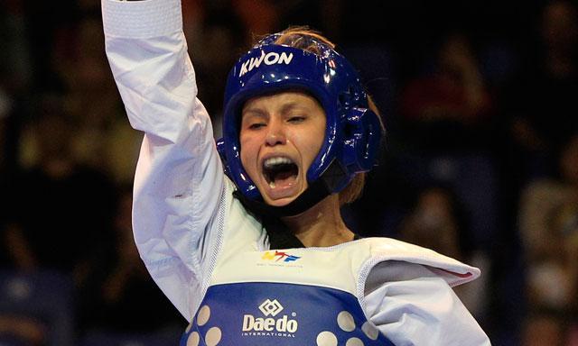 Lizbeth Diez Canseco se consagró en los Bolivarianos.