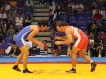 La lucha libre obtuvo le dio al Perú otra medalla de oro más en los Bolivarianos, a través de Abel Herrera.