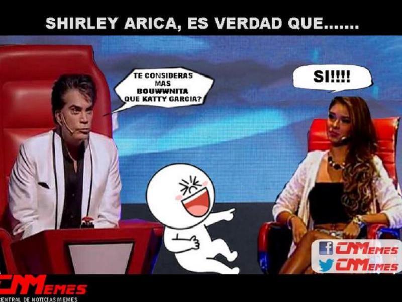 Memes de Shirley Arica: Ironizan de su participación en EVDLV