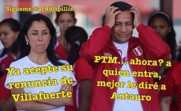 MEMES: Ironizan con Humala y renuncia de Adrián Villafuerte