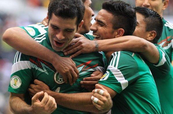 México goleó y quedó muy cerca de Brasil 2014.