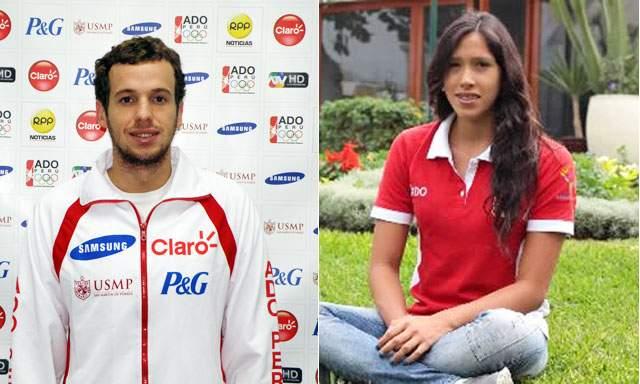 Los nadadores Sebastian Jahnsen y Andrea Cedrón se consagraron en los Bolivarianos.