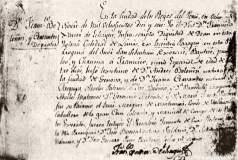 """Francisco Bolognesi: En su partida de bautizo decía """"niño español"""""""