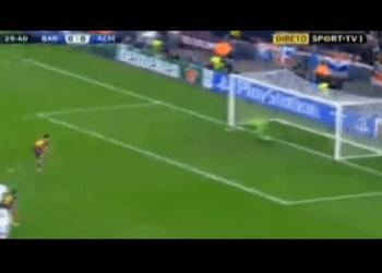 [VIDEO] Revive el gol de Leo Messi en el Barça vs Milan