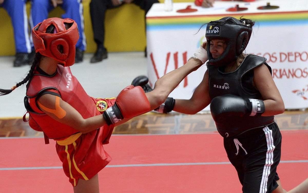 El deporte de Wushu también generó medallas para el Perú.