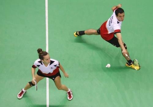 Perú se impuso en Bádminton al conseguir oro y plata en la modalidad de dobles mixtos.