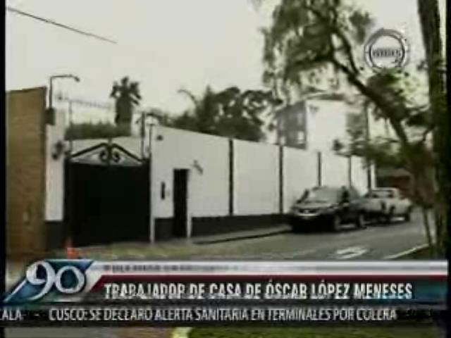 ¿A quien cuidaba la PNP?: Hijo de Humala estudia cerca a casa de López Meneses