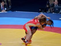 La lucha libre nacional obtuvo la primera presea dorada en los Juegos Bolivarianos.