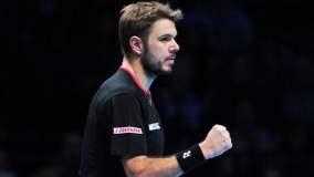 Wawrinka espera una ayuda de Nadal para clasificar a la siguiente fase de las Finales ATP.
